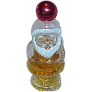 Vintage AVON Jolly Santa &quot;Here's My Heart&quot; Cologne