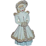 REDUCED Lovely Little Lady Figurine