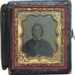 REDUCED Antique Daguerreotype Victorian Lady