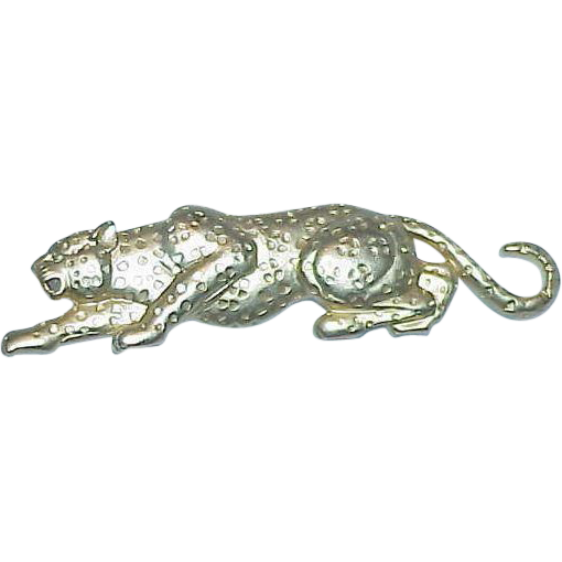 JJ Leopard Brooch