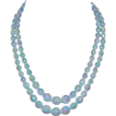 Yummy Ice Blue W GERMANY 2-Strand AB Necklace