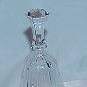 Vintage GERMANY Lead Crystal Dinner Bell