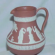 REDUCED Wedgwood Terracotta Pitcher