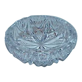 American Brilliant Small Round Trinket Bowl