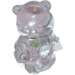 Fenton Glass/Crystal Birthday Bear Figurine - August