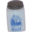Vintage Milk Glass Salt Shaker