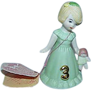 "Enesco ""Growing Up"" Birthday Girl #3 Figurine"
