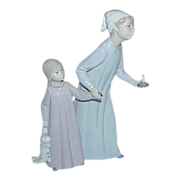 REDUCED NAO by Lladro &quot;Children in Night-Clothes&quot;