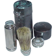 Extremely Rare 5 Piece RUBBERSET Travel Shaving Brush