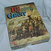 "Vintage Civil War ""Lee vs Grant"" Board Game"
