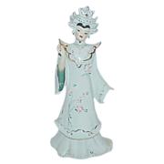 "Unusual Geisha Figurine from ""Florence Ceramics"""