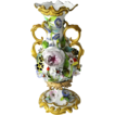 Rare, Minton Circa 1830 - 1840  Floral Encrusted Vase