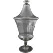 Large 19th Century French Hand Blown Confectionery Urn