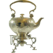Superb! Circa 1800  Elkington Silver Plate Water Kettle with Lamp-Stand