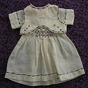 SALE Vintage Doll's Dress
