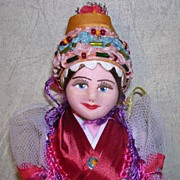 "9"" Cloth Face Travel Doll"