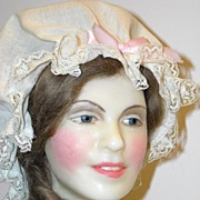"24"" Wax Portrait Doll ~ Betsy Ross by Lewis Sorensen"