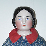 23� Kister Covered Wagon China Head Doll