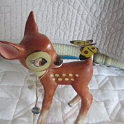 Walt Disney Character Bambi Butterfly on tail original tag
