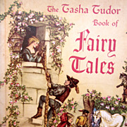 SOLD Tasha Tudor Book of Fairy Tales