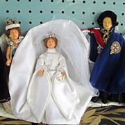 Peggy Nisbett Set of Coronation dolls