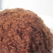Wonderful wig for Tiny tears or other curly head doll or Effanbee