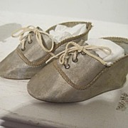 Size 8 silk doll shoes