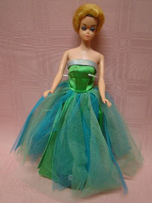 Beautiful Fashion Queen Barbie Doll Wearing Senior Prom Gown