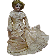 REDUCED 1860's Rare French Mechanical Waltzing Steiner Doll with Voice Mechanism,
