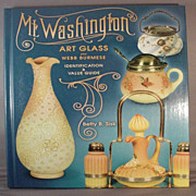 Book: Mt. Washington Art Glass + Webb Burmese Value & I.D. Guide