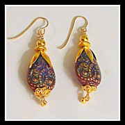 SALE 2&quot; Temperature Sensitive Color Changing &quot;Mood Earrings&quot;