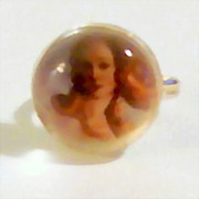 Botticelli's Birth of Venus Image on Adjustable Ring