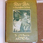 SALE Antique Peter Pan in Kensington Gardens