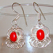 Bright Petite Vintage Earrings