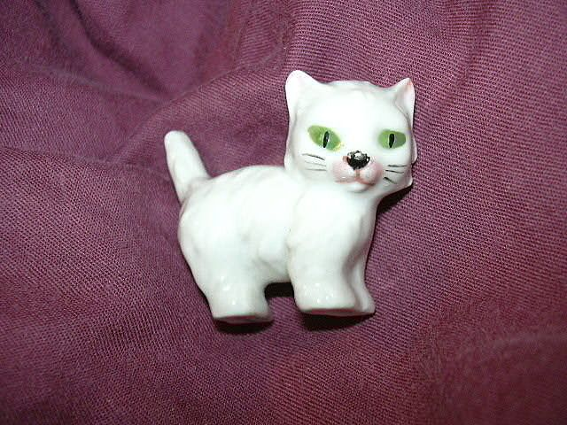 Miniature Cat Kitten Figurine Germany