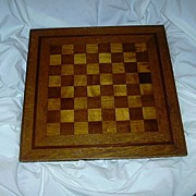 Inlay Wood Chess Board