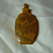Old Oriental Snuff Bottle
