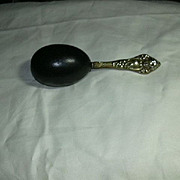 Old Darning Egg Fancy Handle