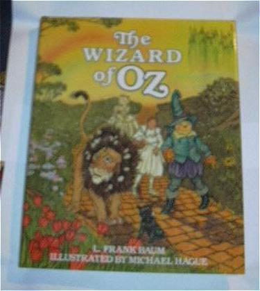 Michael Hague Illustrations The Wizard of Oz & Original Line Drawing