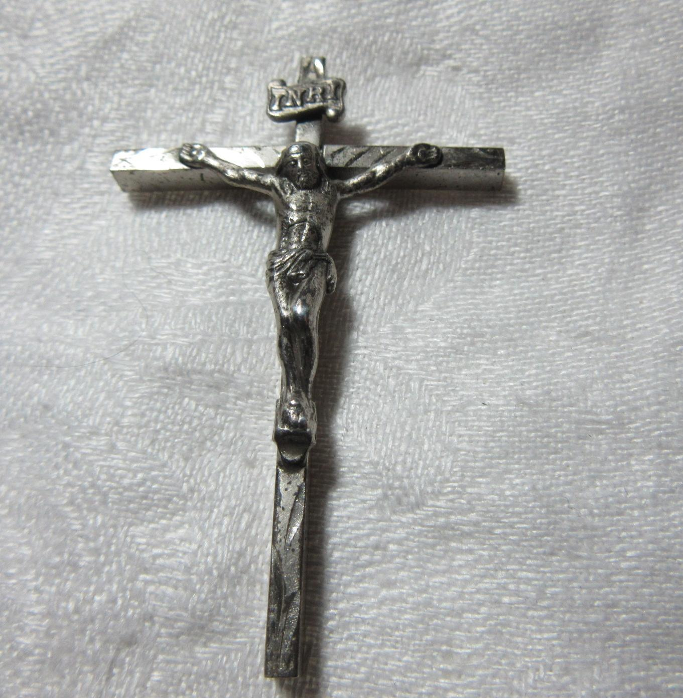 Afco Sterling Silver Crucifix Religious Cross