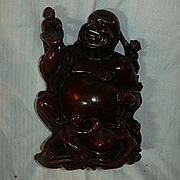 Carved Buddha Chinese Immortal God With Babies Statue