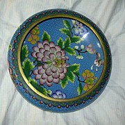 Large  Cloisonne Bowl
