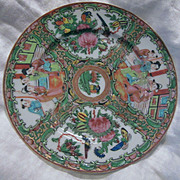 Rose Medallion Plate