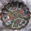 Rose Medallion Scalloped Bowl