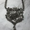 Old Rhinestone Elegant Necklace Fine Vintage Jewelry