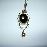Victorian Pendant On Chain