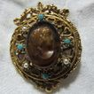 Lisner Cameo Brooch