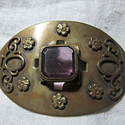 Large Art Deco Brooch