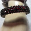 Antique Garnet Bracelet Multiple Rows Fine Jewelry