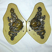 Art Nouveau Dress Buckle Lovely Lady